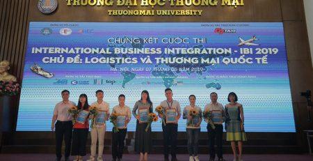 Ecorp tự hào là nhà đồng hành của cuộc thi IBI 2019: Logistics
