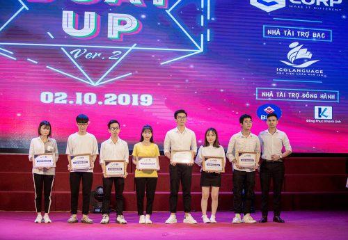 """Ecorp English Đồng hành cùng tân sinh viên Thủy lợi """"BOAT UP 2019"""""""
