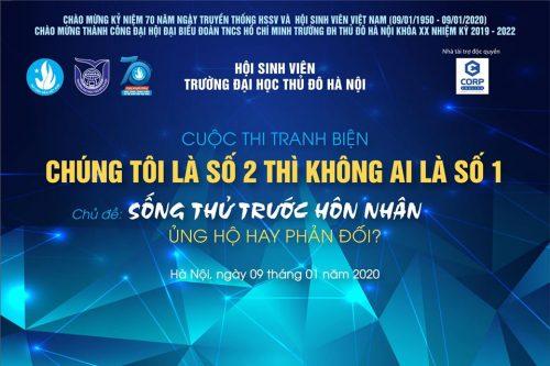 """Ecorp tài trợ ĐH Thủ đô Hà Nội trong cuộc thi """"Chúng tôi là số 2 thì không ai là số 1"""""""