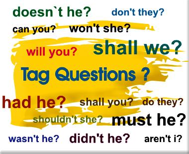 Câu hỏi láy - Học ngữ pháp tiếng Anh 2