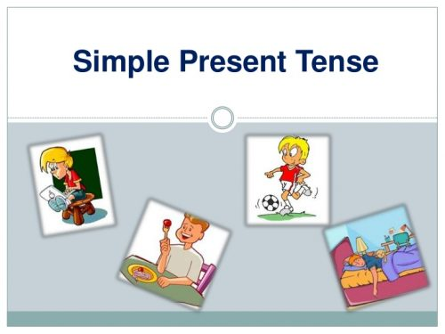 Học các thì trong tiếng Anh 2