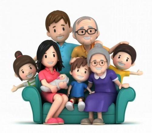 Học từ vựng tiếng Anh chủ đề gia đình 1