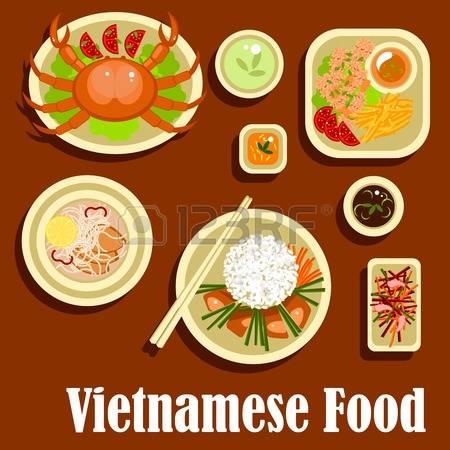 Học tiếng Anh theo chủ đề món ăn Việt Nam