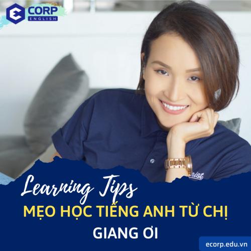 Chị Giang Ơi chia sẻ mẹo học tiếng Anh