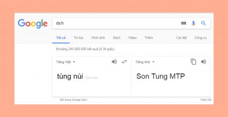 Thánh Google dịch