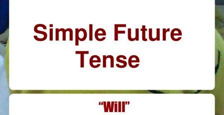 Thì tương lai đơn 1