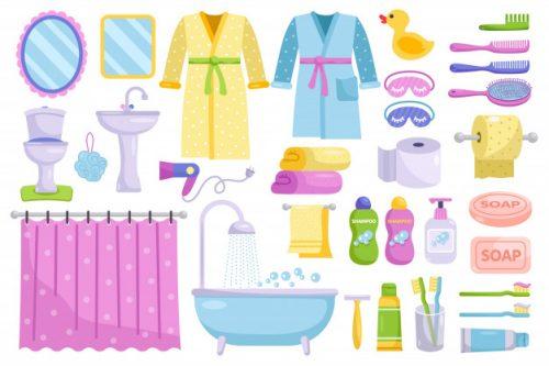 Từ vựng tiếng Anh về các thiết bị trong phòng tắm