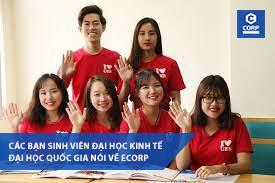 Các bạn sinh viên Đại học Kinh tế đại học quốc gia nói về ecorp