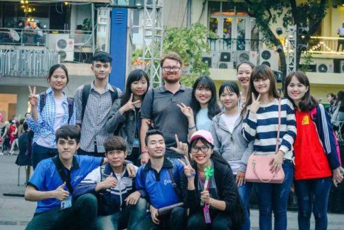 Sinh viên học tiếng Anh tại ECORP ENGLISH