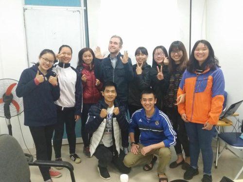 Thầy David Sandersons - Giáo viên bản ngữ ECORP