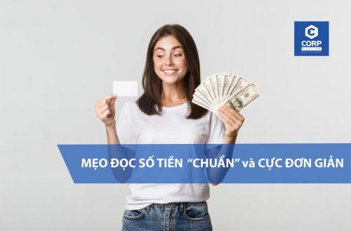 Mẹo đọc số tiền trong tiếng anh cực nhanh và đơn giản