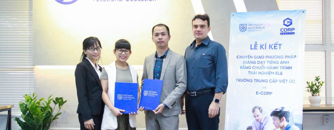Ecorp English kí kêst hợp tác với trường Quốc tế Việt Úc